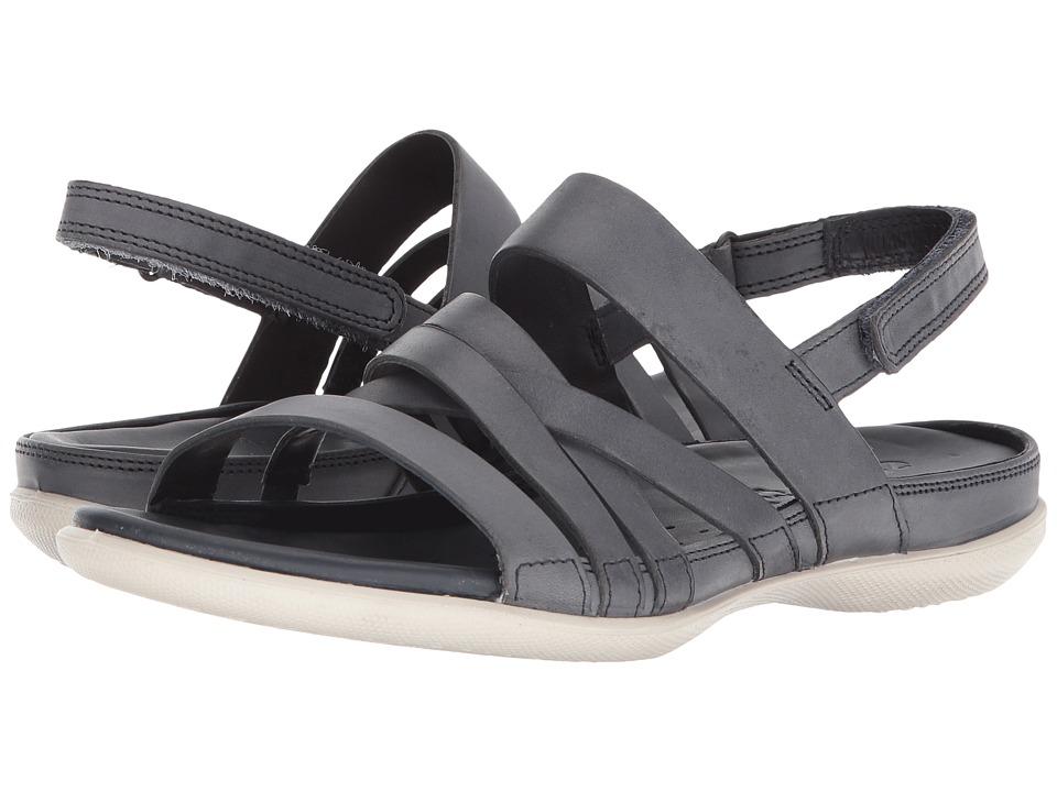 ECCO Flash Casual Sandal (Marine Cow Leather) Women