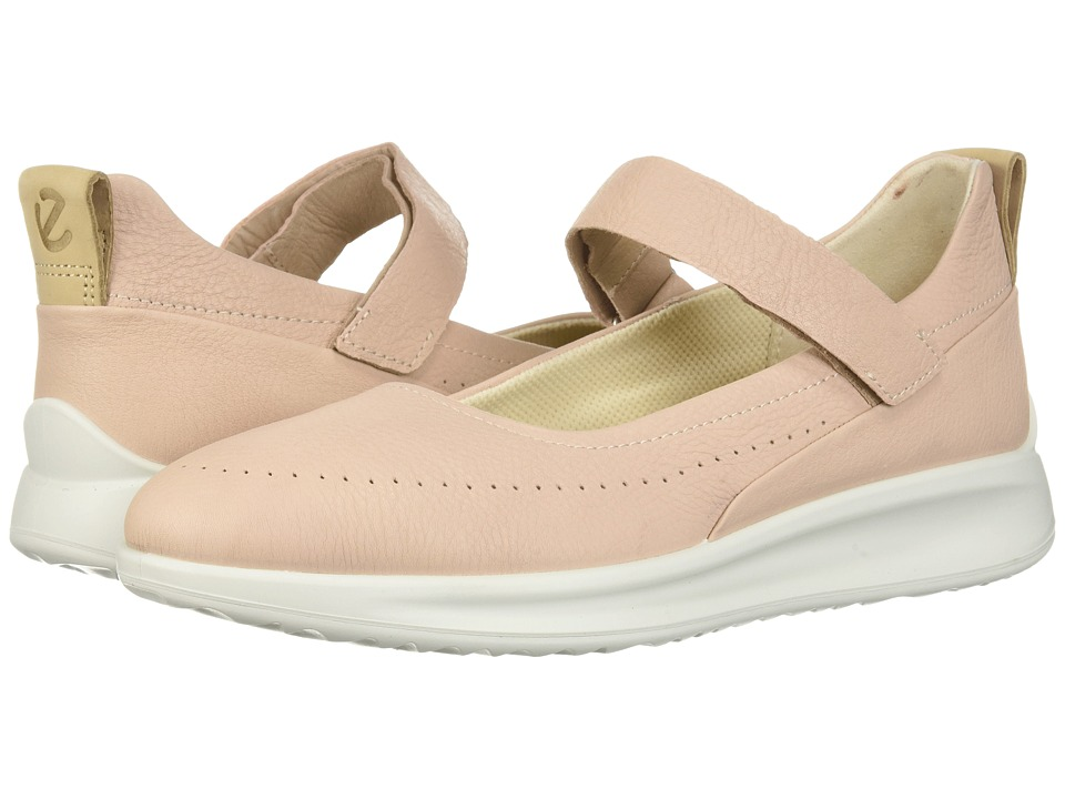 ECCO Aquet Perf Mary Jane (Rose Dust Cow Leather) Women