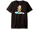 Quiksilver Kids Santa Surf Monkey Shirt (Big Kids)