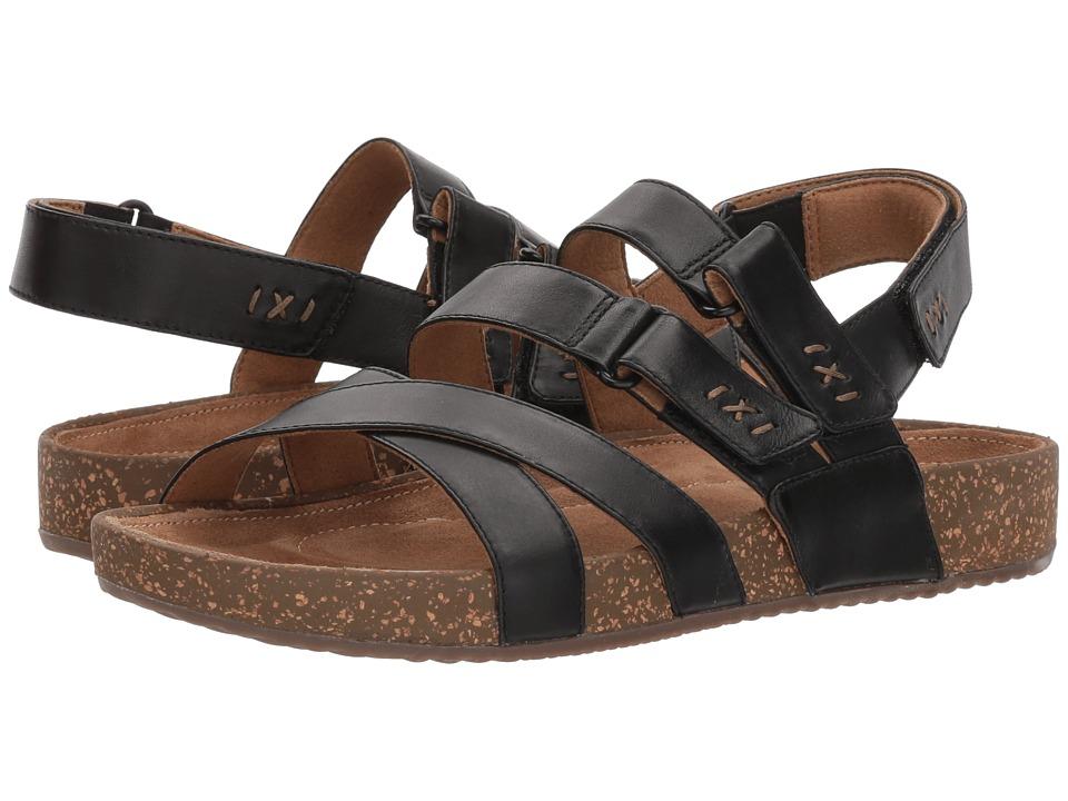 Clarks Rosilla Keene (Black Leather) Women's Shoes