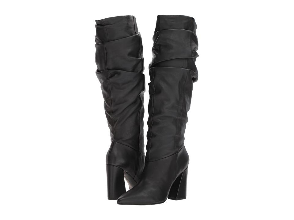 Kenneth Cole New York Genevive (Black Leather) Women