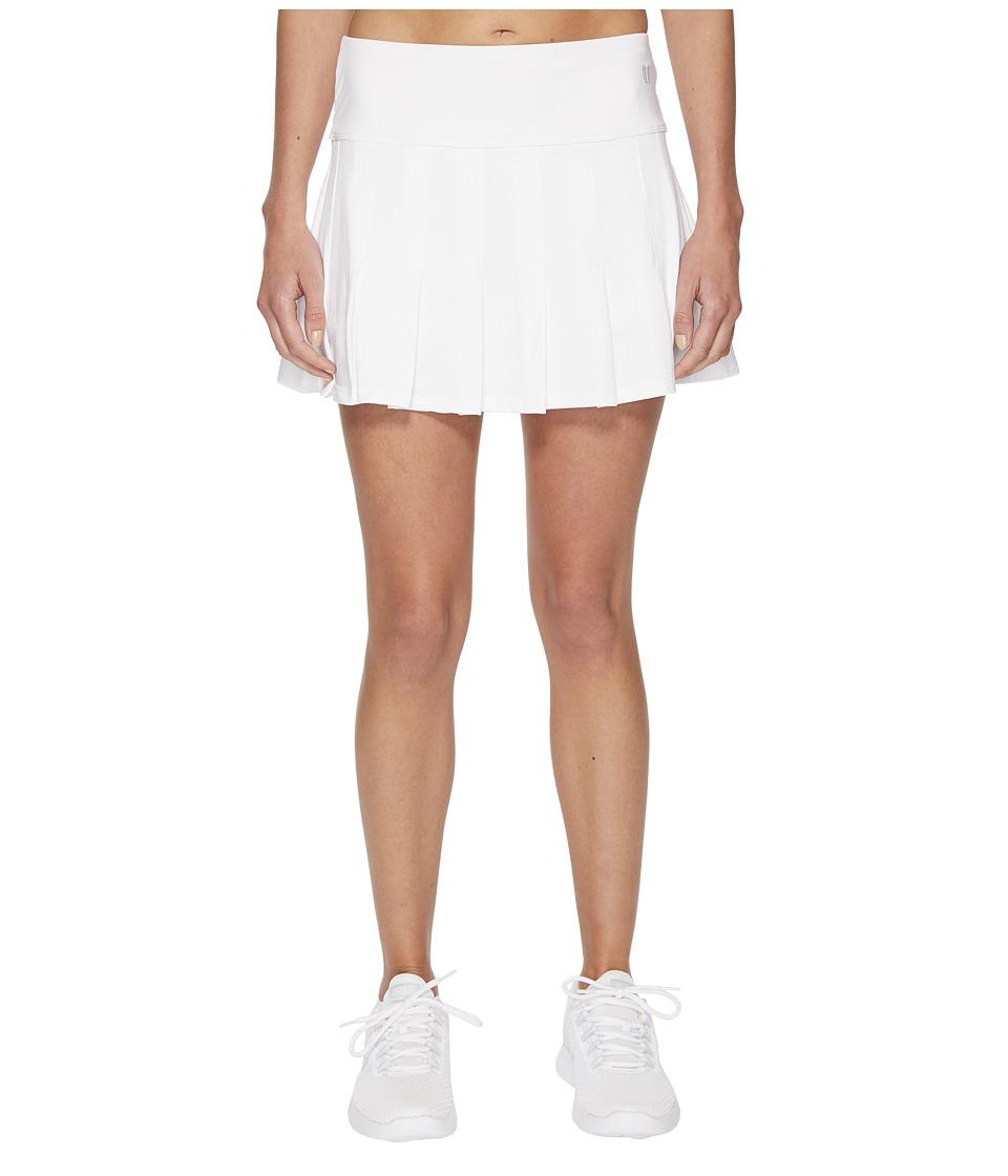 Eleven by Venus Williams - Core 14 Flutter Skirt (White) Womens Skirt