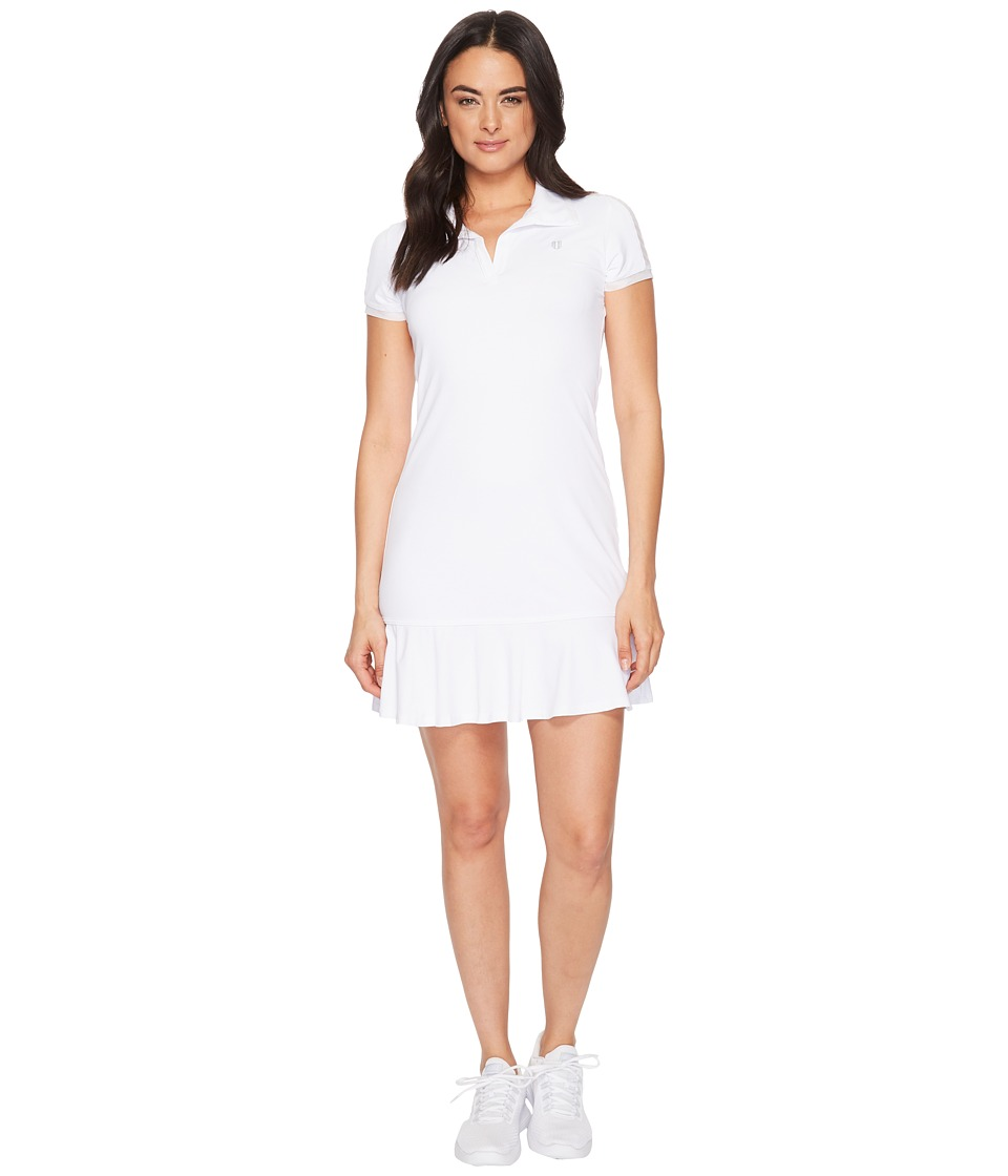 Eleven by Venus Williams - Pique Collection Swing Dress (White) Womens Dress