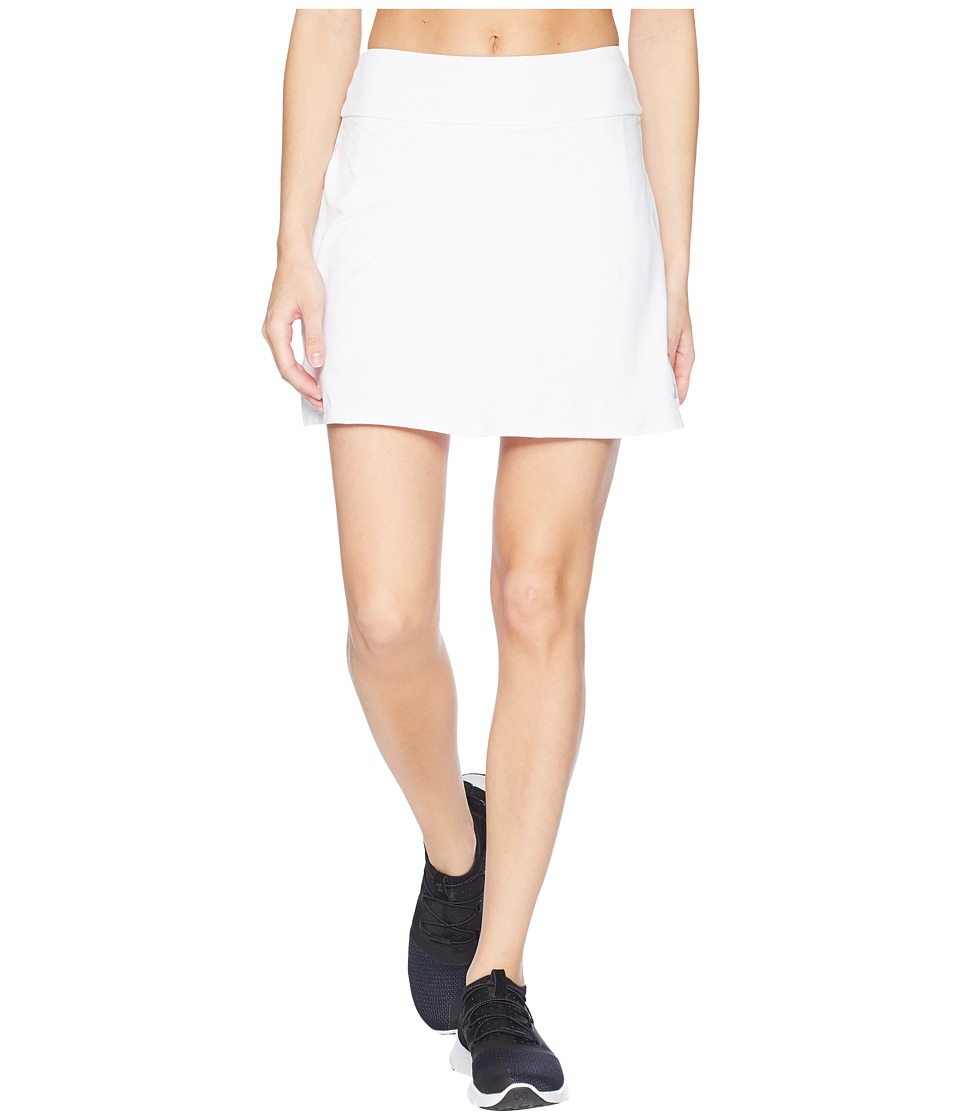 Eleven by Venus Williams - Pique Collection Motion 16 Skirt (White) Womens Skirt