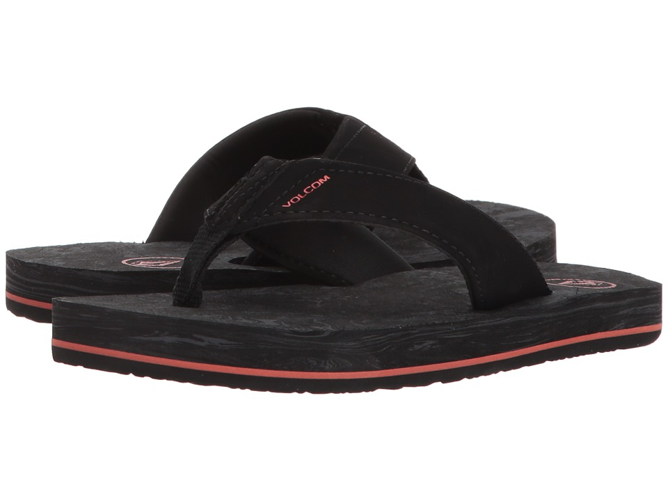 Volcom Kids Victor (Little Kid/Big Kid) (Black Rinser) Boys Shoes