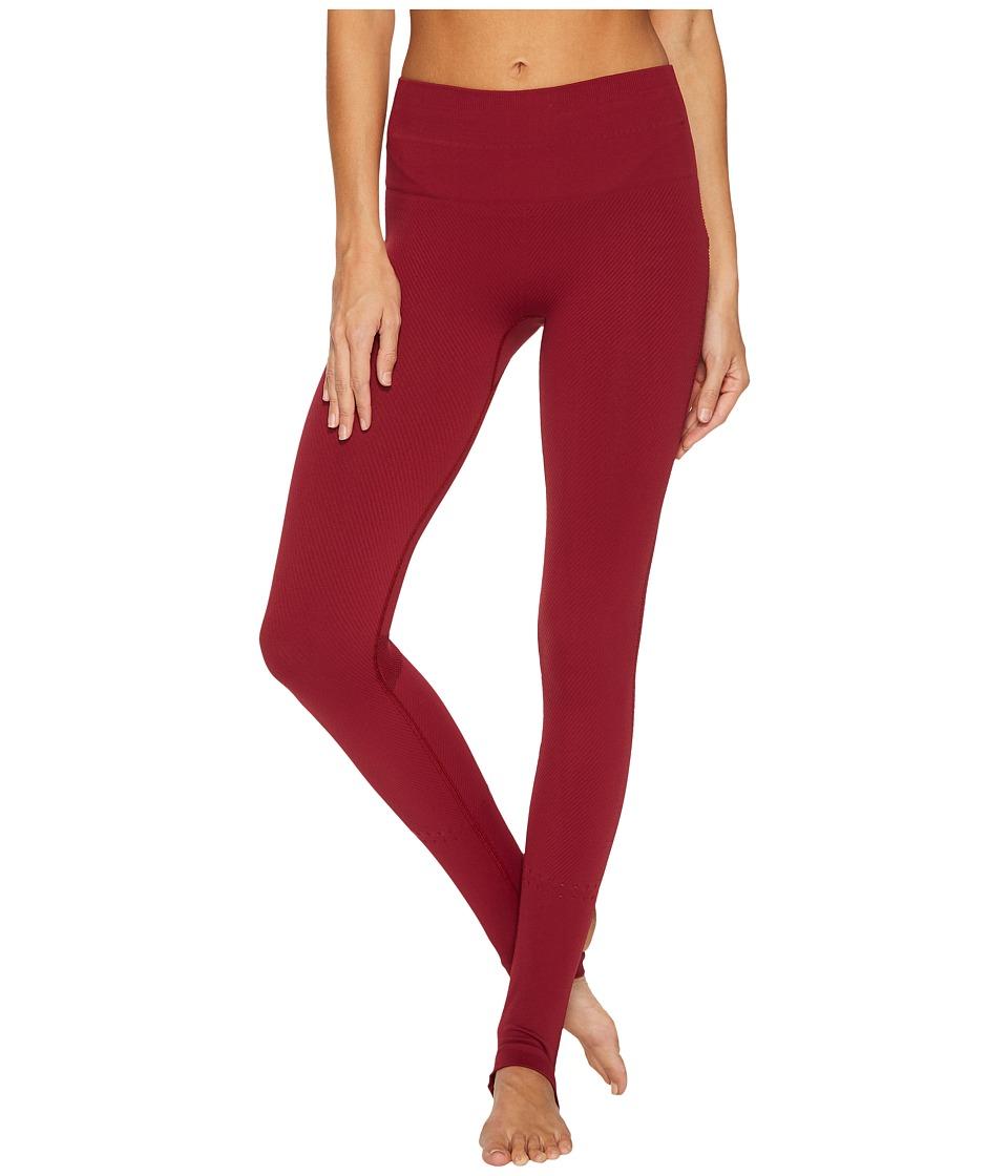 Free People Movement Method Leggings (Dark Red) Women