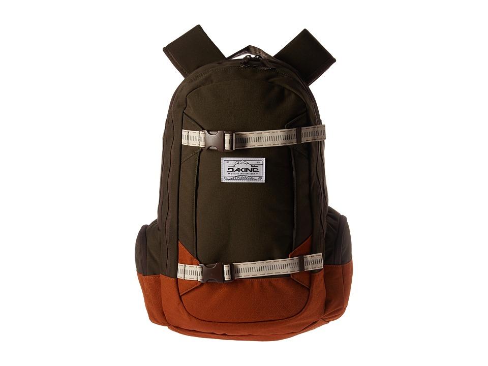 Dakine - Mission Backpack 25L (Timber) Backpack Bags
