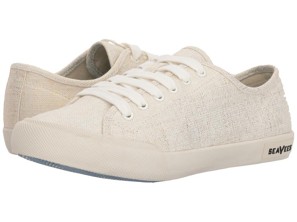 SeaVees Monterey Sneaker Metallic (Gold) Women's Shoes