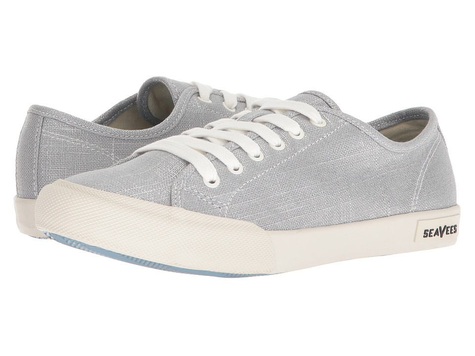 SeaVees Monterey Sneaker Metallic (Silver) Women's Shoes