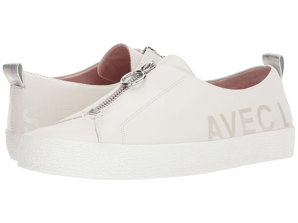 Avec Les Filles - Sasha (Off-White Nappa) Womens Shoes