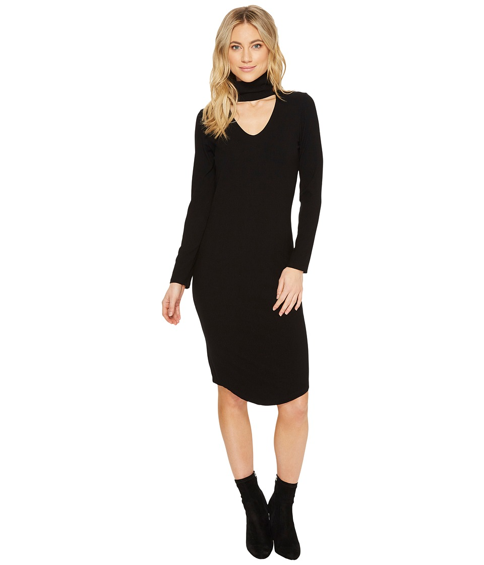 LNA Letta Dress (Black) Women