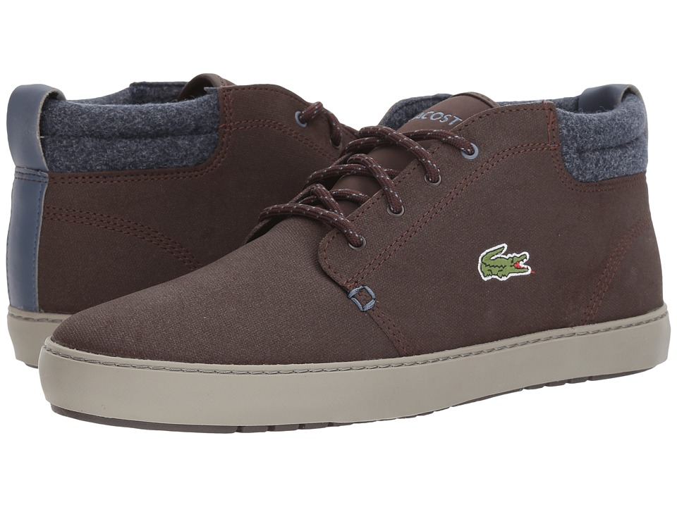 Lacoste - Ampthill Terra 417 1 Cam (Dark Brown) Mens Shoes