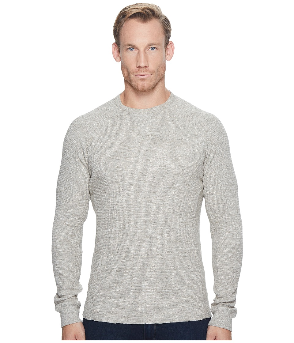 Lucky Brand Strong Boy Thermal Crew (Heather Oatmeal) Men...