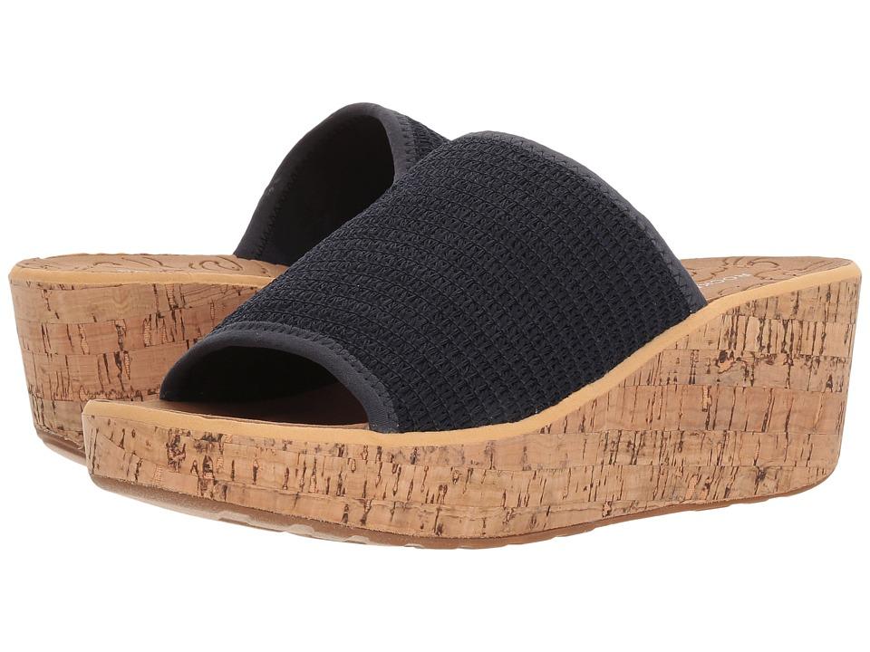 Rockport Lanea Woven Slide (Navy Woven) Slides