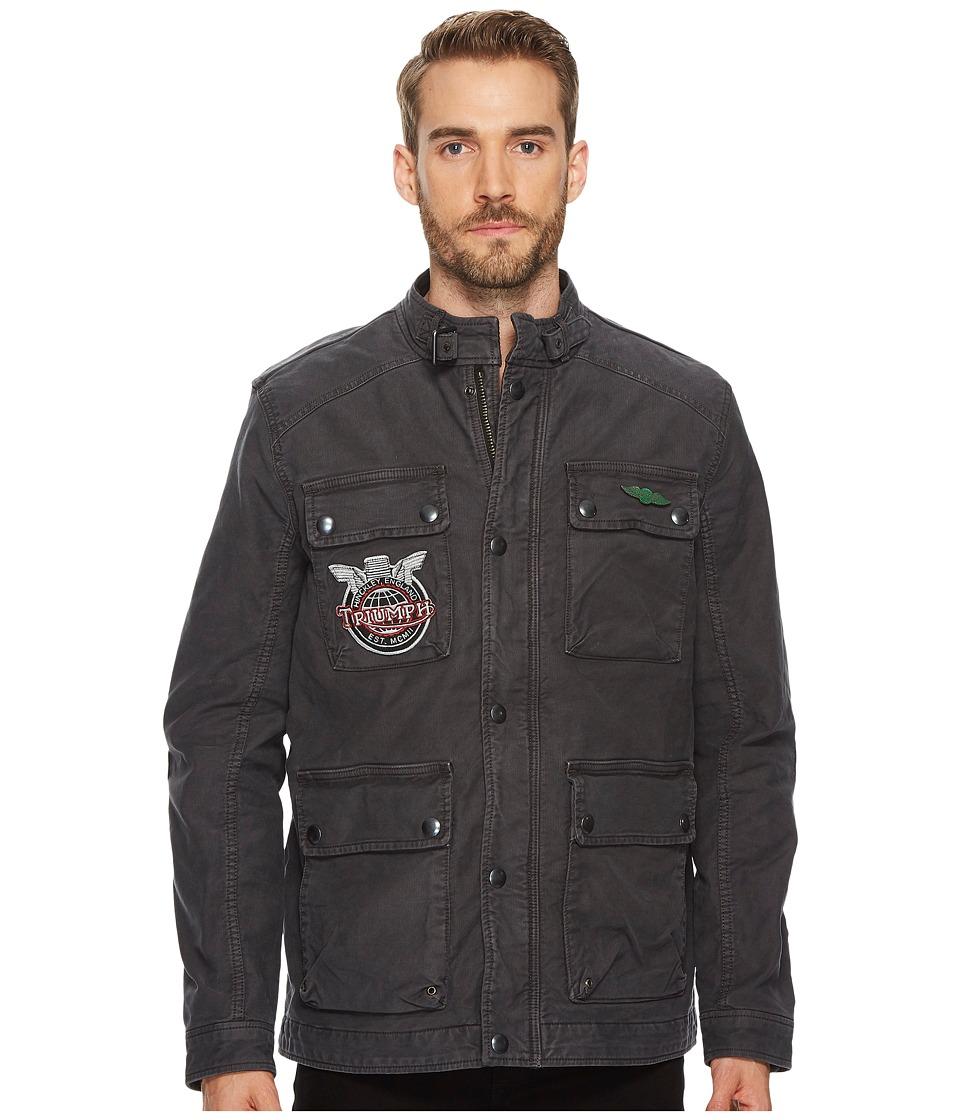 Lucky Brand Moto Jacket (Phantom) Men's Coat
