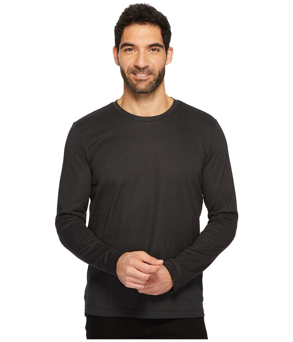 Kenneth Cole Sportswear - Long Sleeve Two-Tone Crew