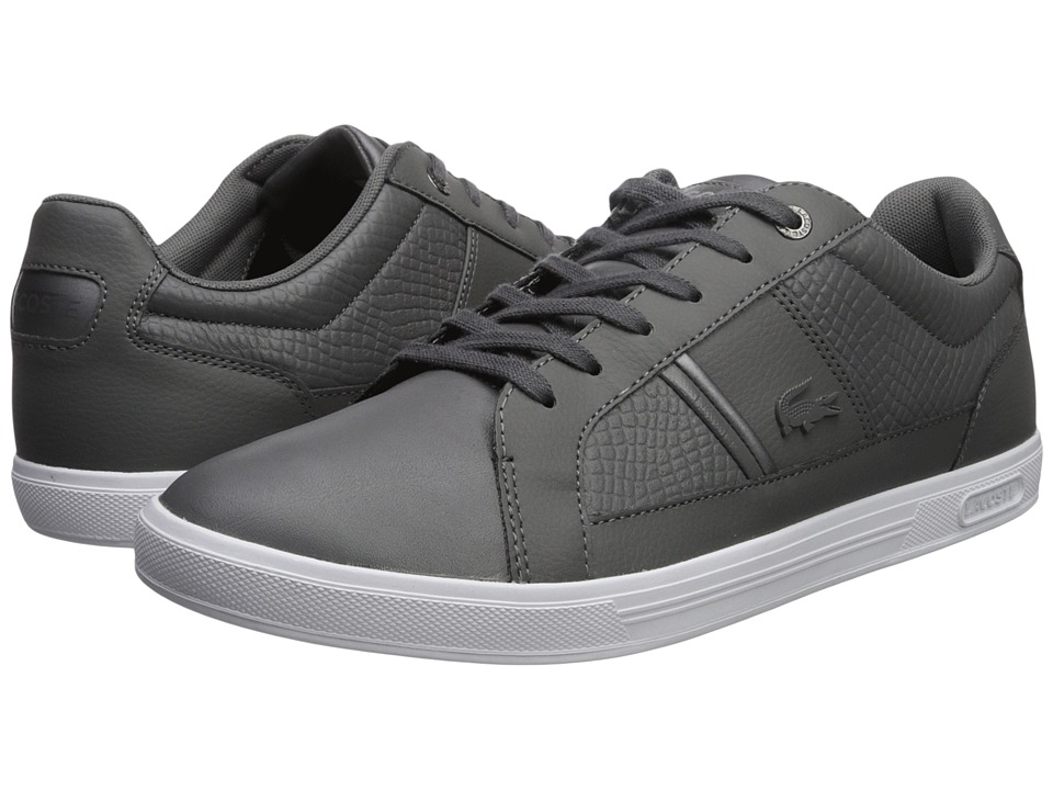 Lacoste - Europa 417 1 Sport (Dark Grey) Mens Shoes