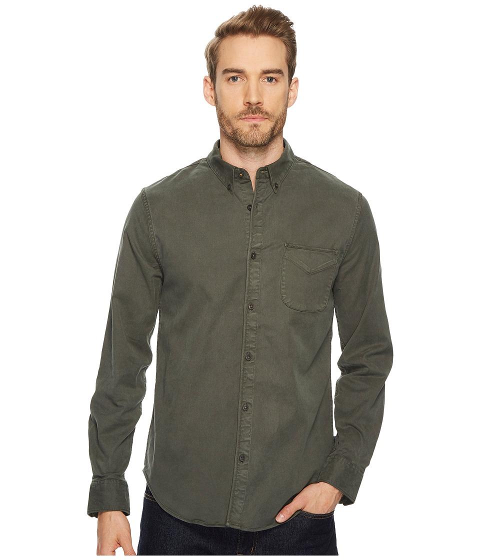 Lucky Brand Bay Street Shirt (Dark Green) Men