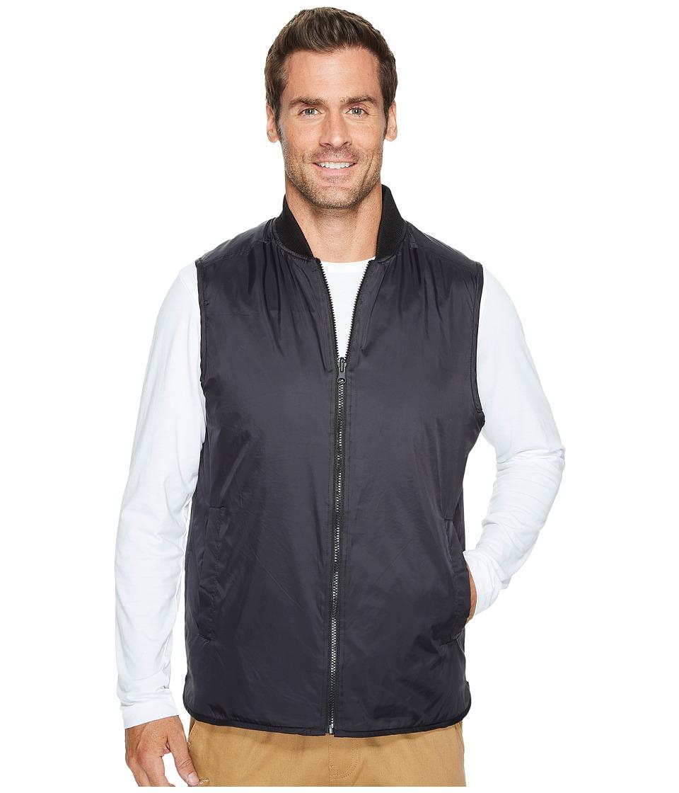 Kenneth Cole Sportswear - Reversible Knit/Nylon Vest