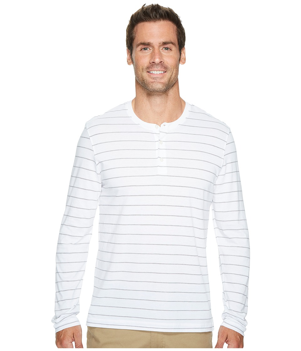 Kenneth Cole Sportswear - Long Sleeve Henley w/ Wicking