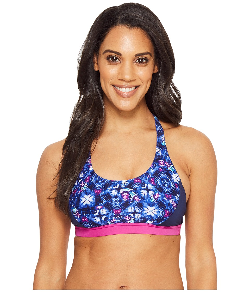 TYR Santa Cruz Harlow Top (Navy/Purple) Women