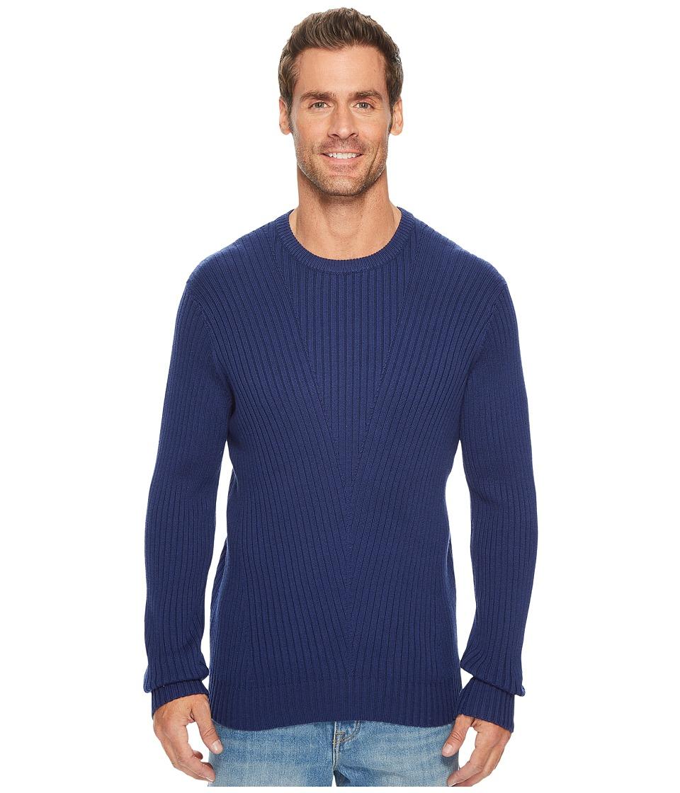 Kenneth Cole Sportswear - Rib Crew Sweater