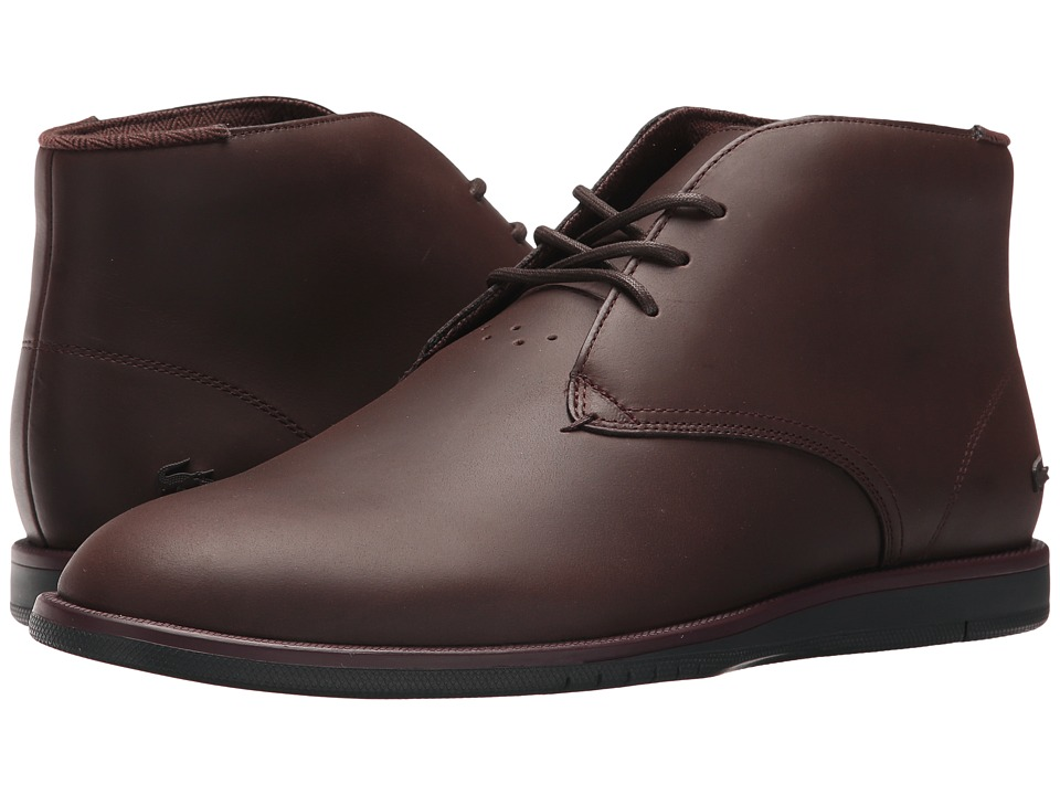 Lacoste Laccord Chukka 417 1 Cam (Dark Brown) Men