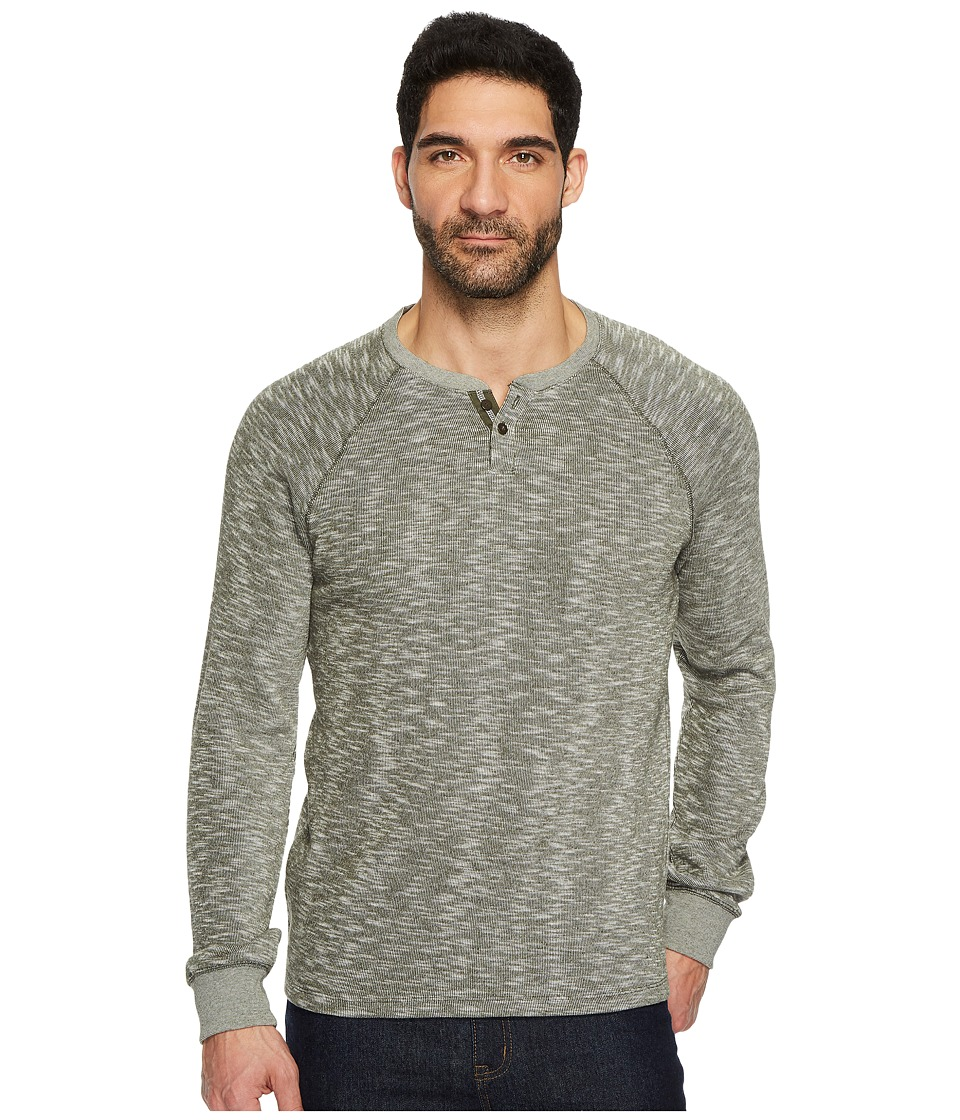 Lucky Brand French Notch Neck Tee (Olive) Men