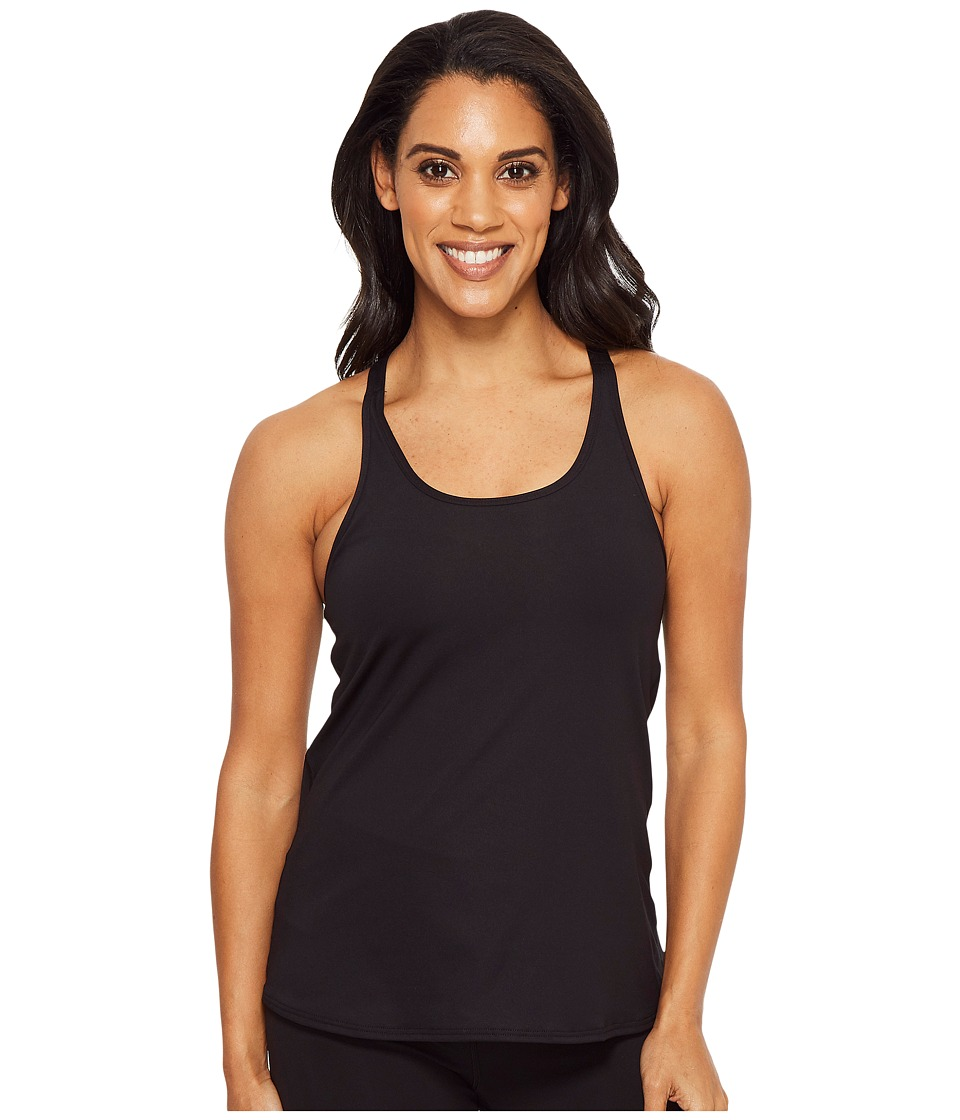 TYR Solid Taylor Tank (Black) Women