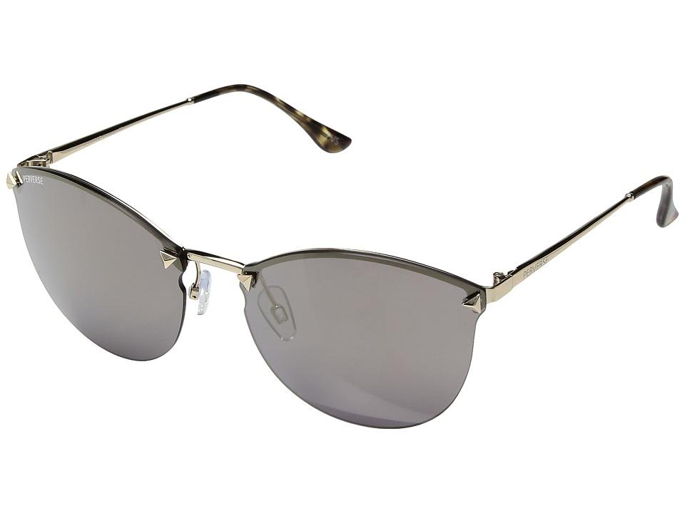 PERVERSE Sunglasses Broadway (Frameless/Gold Lens) Fashion Sunglasses