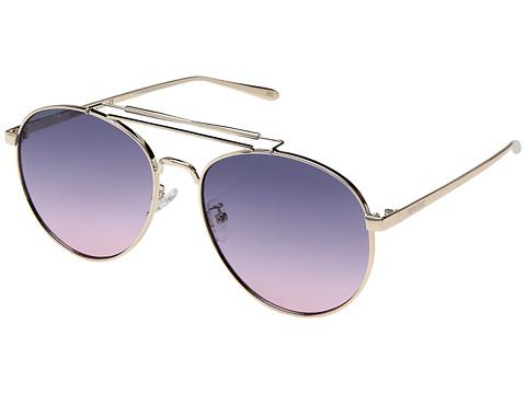PERVERSE Sunglasses Crisp - Gold/Purple Ombre Lens