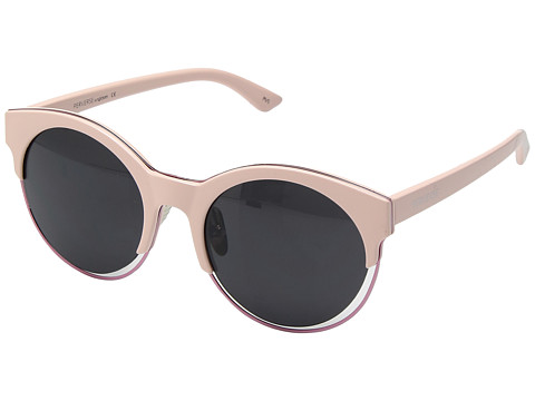 PERVERSE Sunglasses Jaxx - Shiny Baby Pink/Black Floating Lens