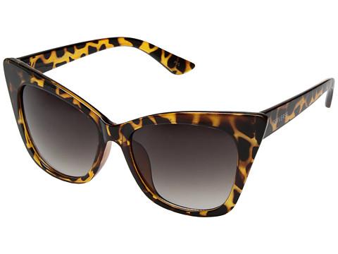 PERVERSE Sunglasses Jen Jen - Glossy Leopard/Black Gradient Lens