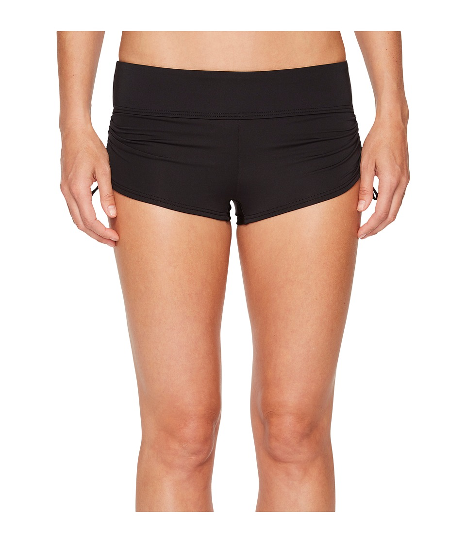 TYR Solid Della Boyshorts (Black) Women