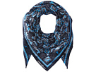 Polo Ralph Lauren Mosaic Wool Blend Bandana Scarf
