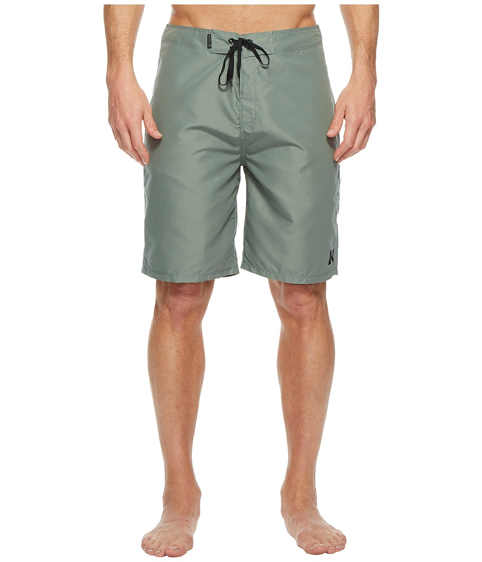 Hurley One Only 2.0 21 Boardshorts (Clay Green) Men