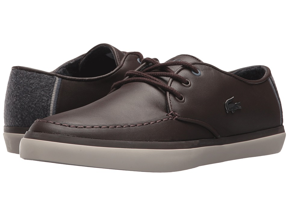 Lacoste - Sevrin 417 1 Cam (Dark Brown) Mens Shoes