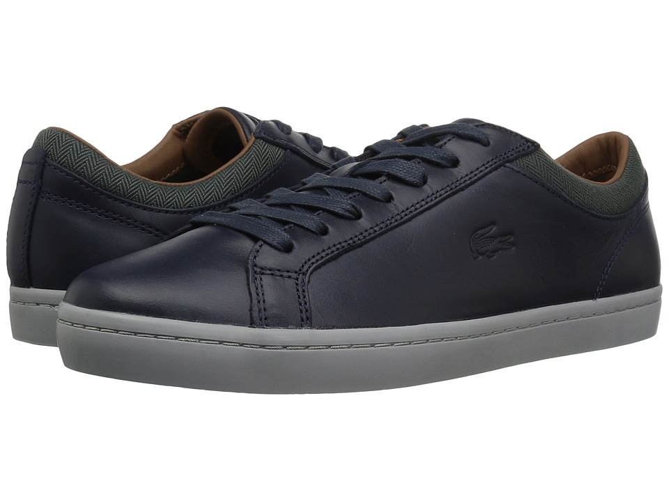 Lacoste - Straightset 417 1 Cam (Navy) Mens Shoes