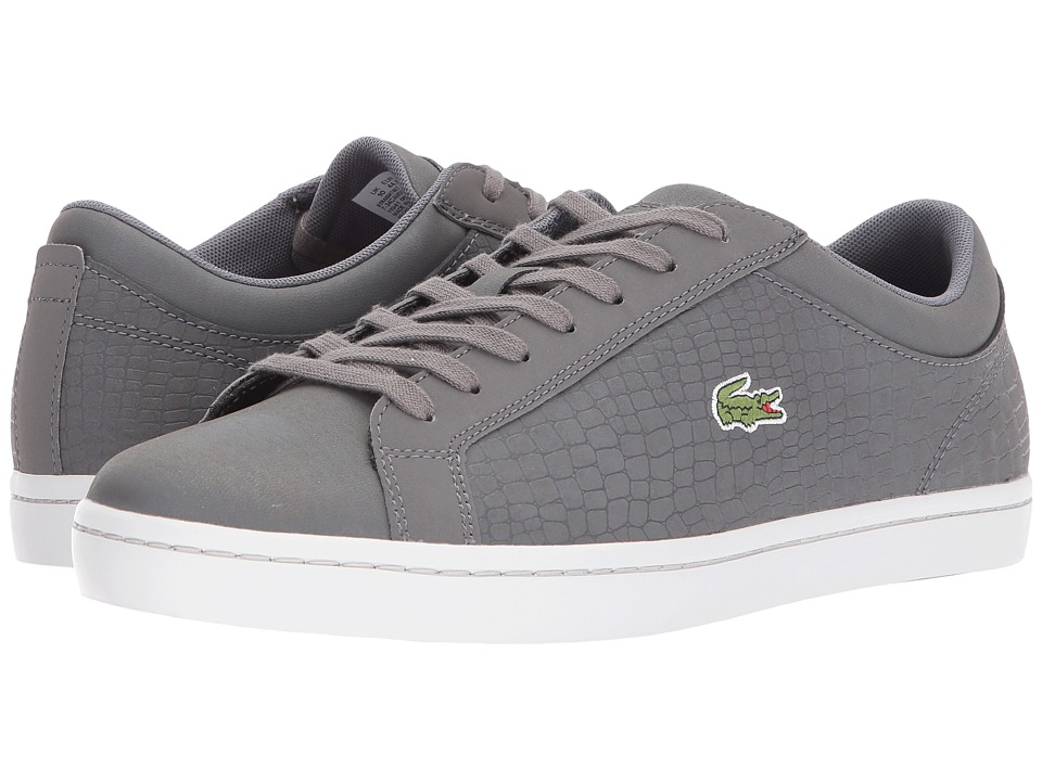 Lacoste - Straightset Sp 417 1 Cam (Dark Grey) Mens Shoes