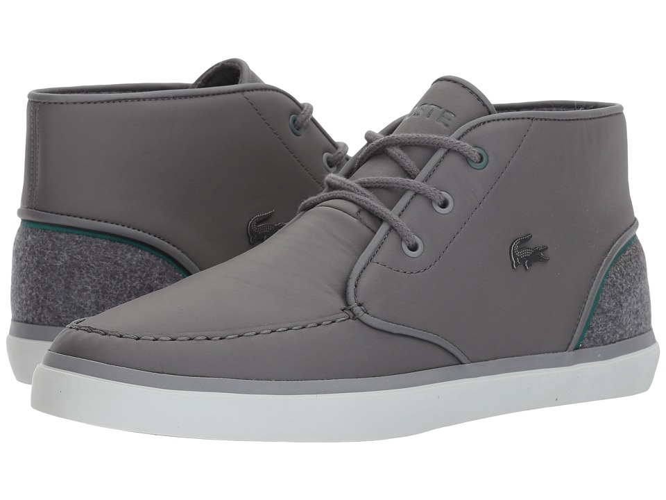 Lacoste - Sevrin Mid 417 1 Cam (Dark Grey) Mens Shoes