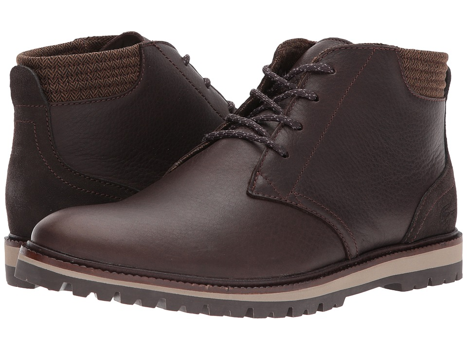 Lacoste - Montbard Chukka 417 1 Cam (Dark Brown) Mens Shoes