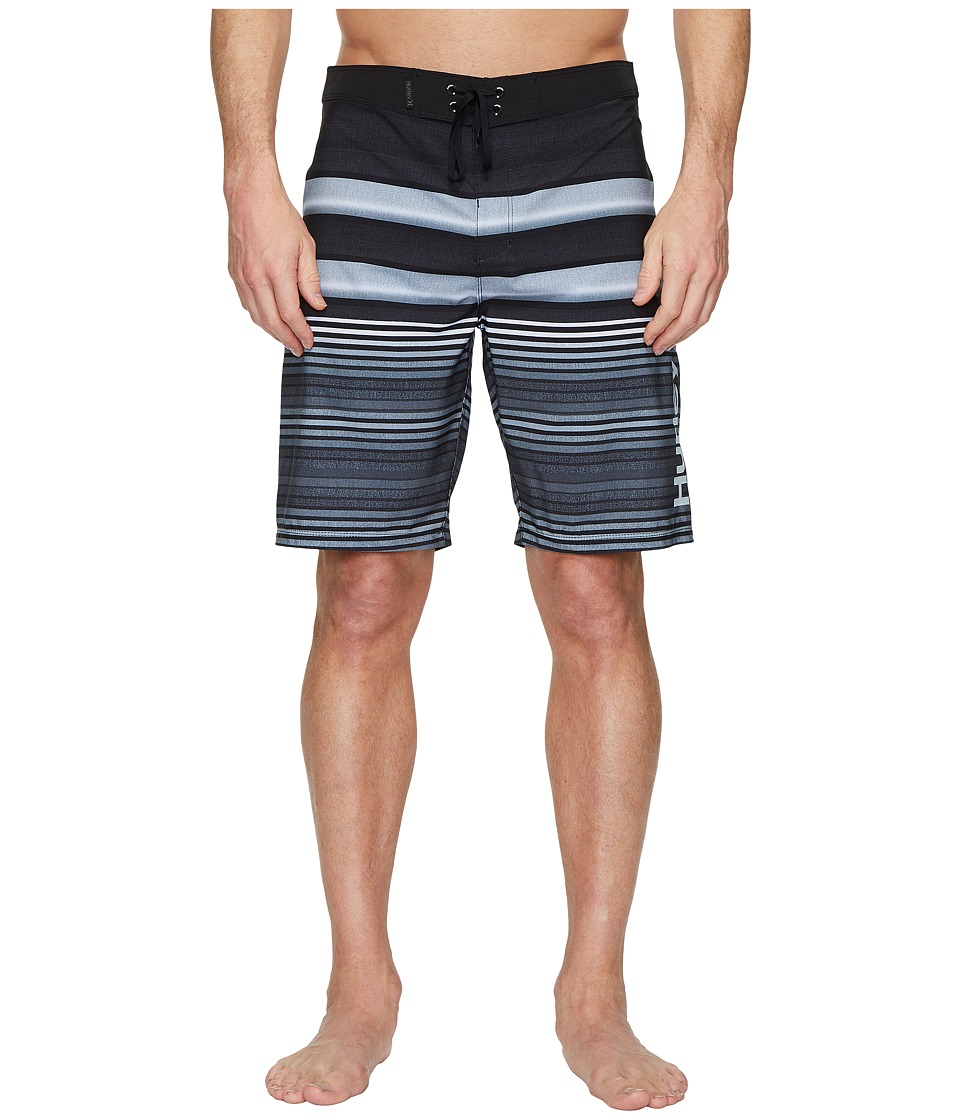 Hurley Phantom Blackball Orange Street 20 Boardshorts (Black) Men