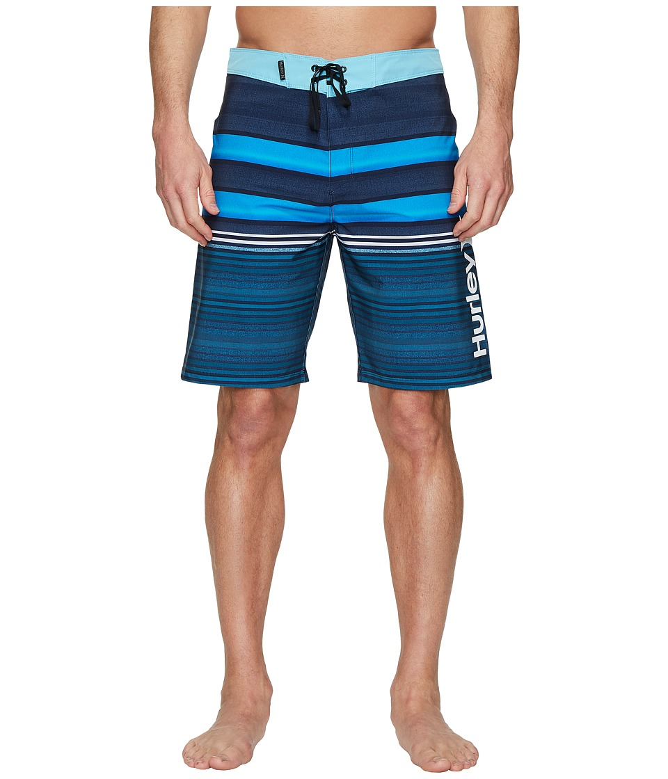 Hurley Phantom Blackball Orange Street 20 Boardshorts (Obsidian) Men