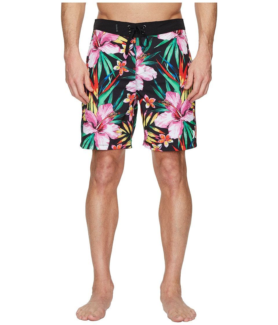 Hurley Phantom Garden 18 Boardshorts (Black) Men