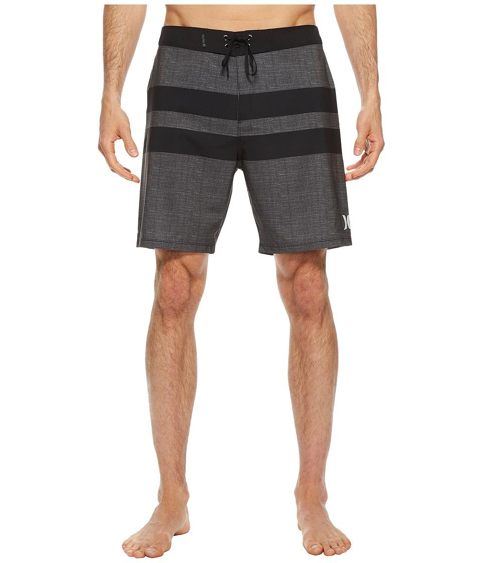 Hurley Phantom Blackball 18 Boardshorts (Black) Men
