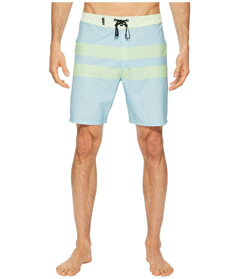 Hurley Phantom Blackball 18 Boardshorts (Ocean Bliss) Men