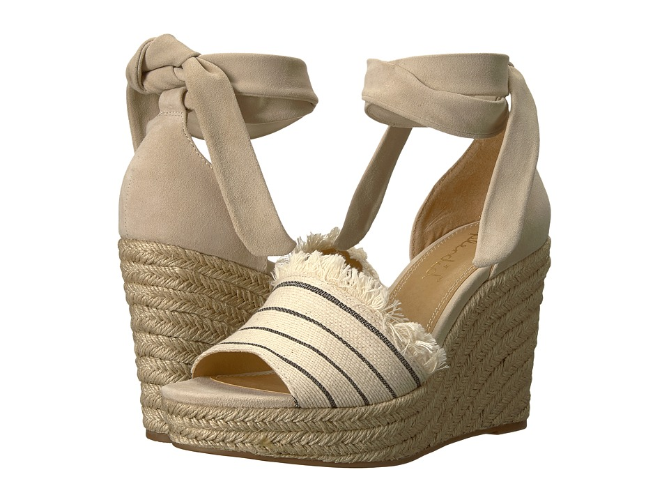 Splendid Barke (Cream Combo) Women's Wedge Shoes