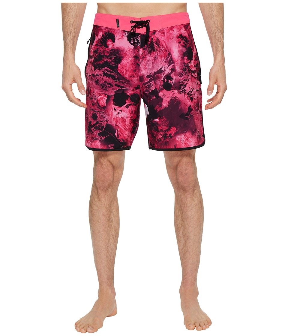 Hurley Phantom Julian Snapper 18 Boardshorts (Hyper Pink) Men