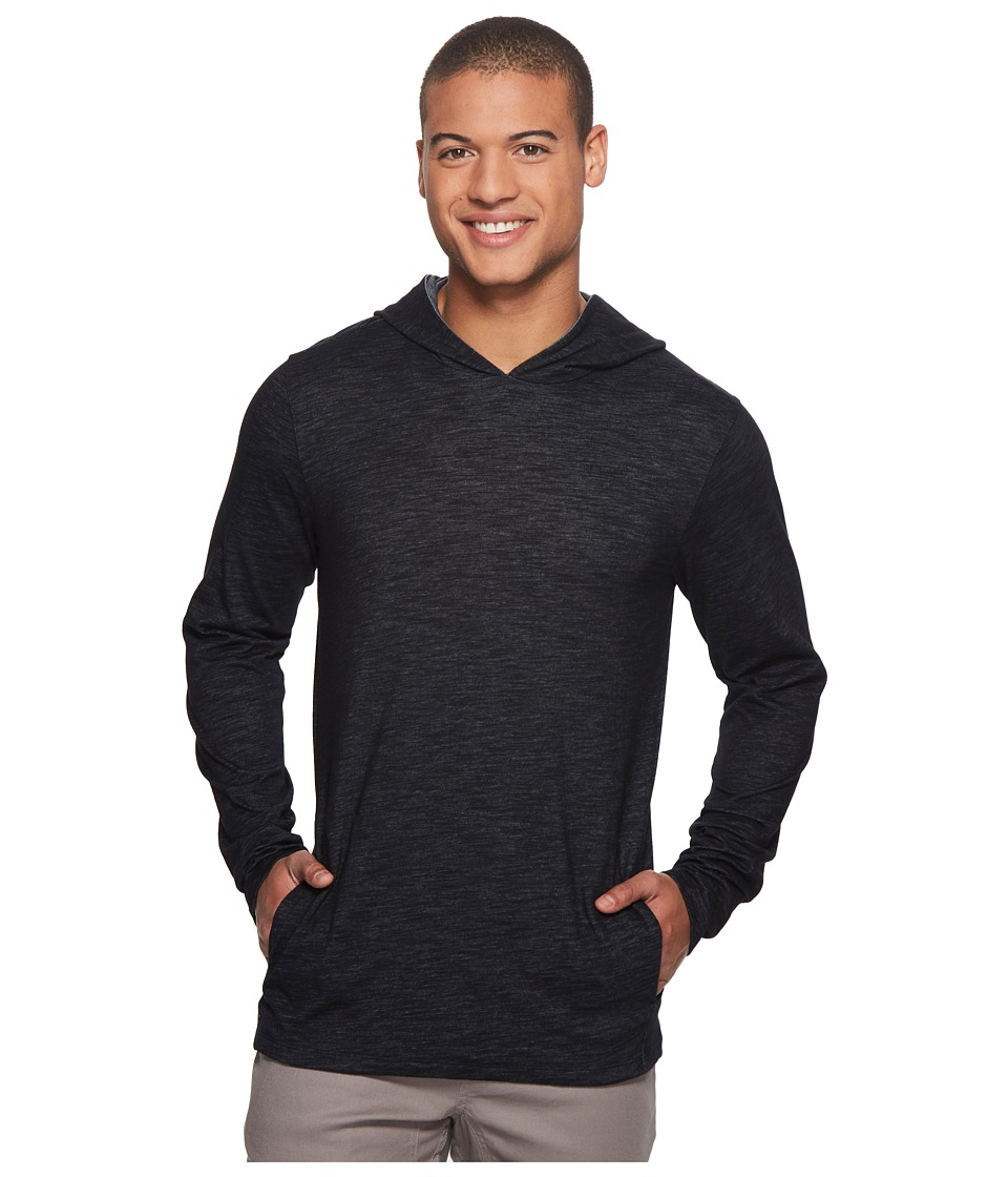 Hurley Dri-Fit Lagos Pullover Hoodie (Black) Men