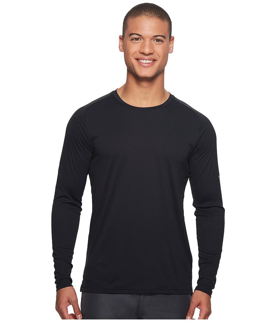 Hurley Icon Quick Dry Long Sleeve Surf Shirt UPF 50+ (Black) Men